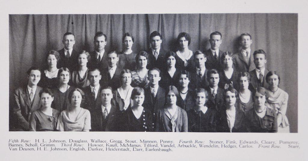 MacDowell Club detail 69_1 1931 Jayhawker