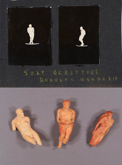 Soap sculptures by Rudolph Wendelin