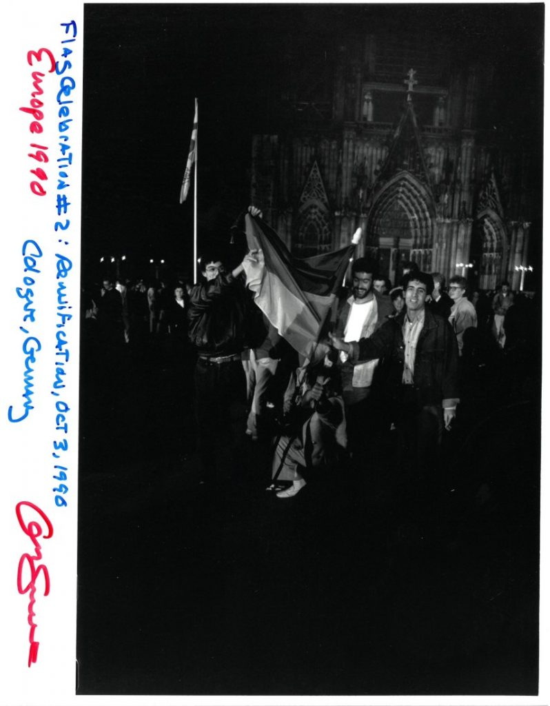 "Photograph entitled ""Flag Celebration #2,"" 1990"