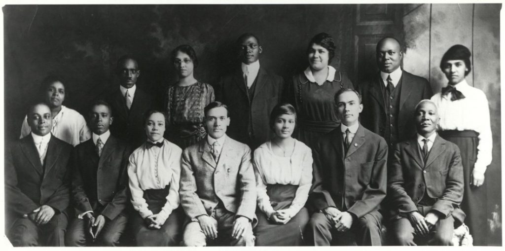 Photograph of Sumner High School faculty, 1919
