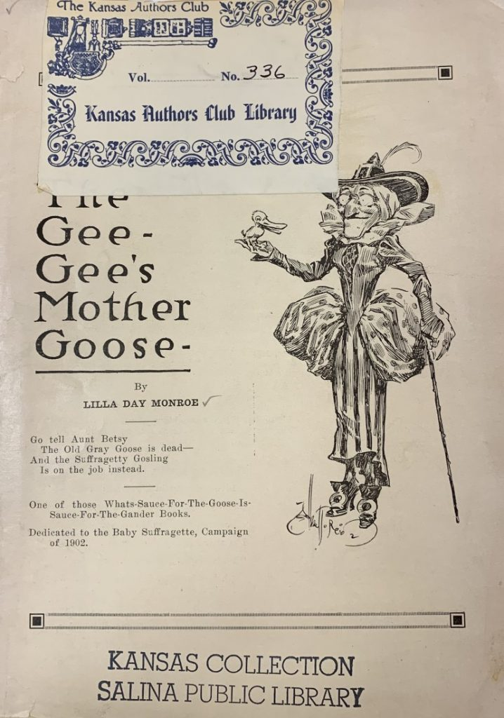 The cover of the book The Gee-Gee's Mother Goose, 1912