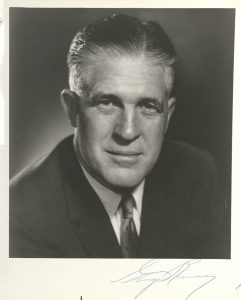 Signed photograph of Michigan Governor George Romney