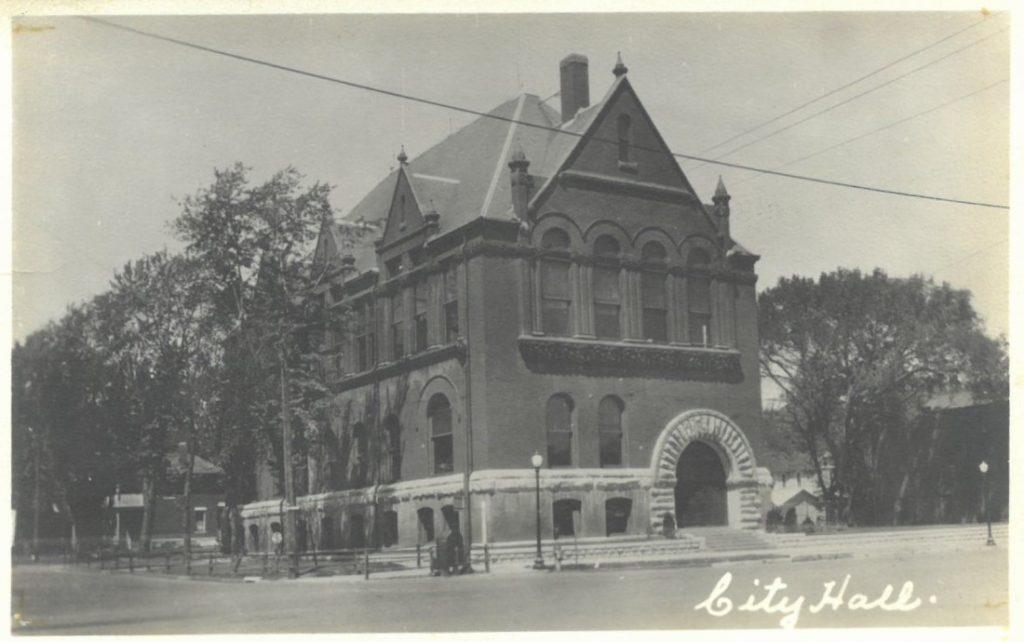 Lawrence City Hall, circa 1930-1950