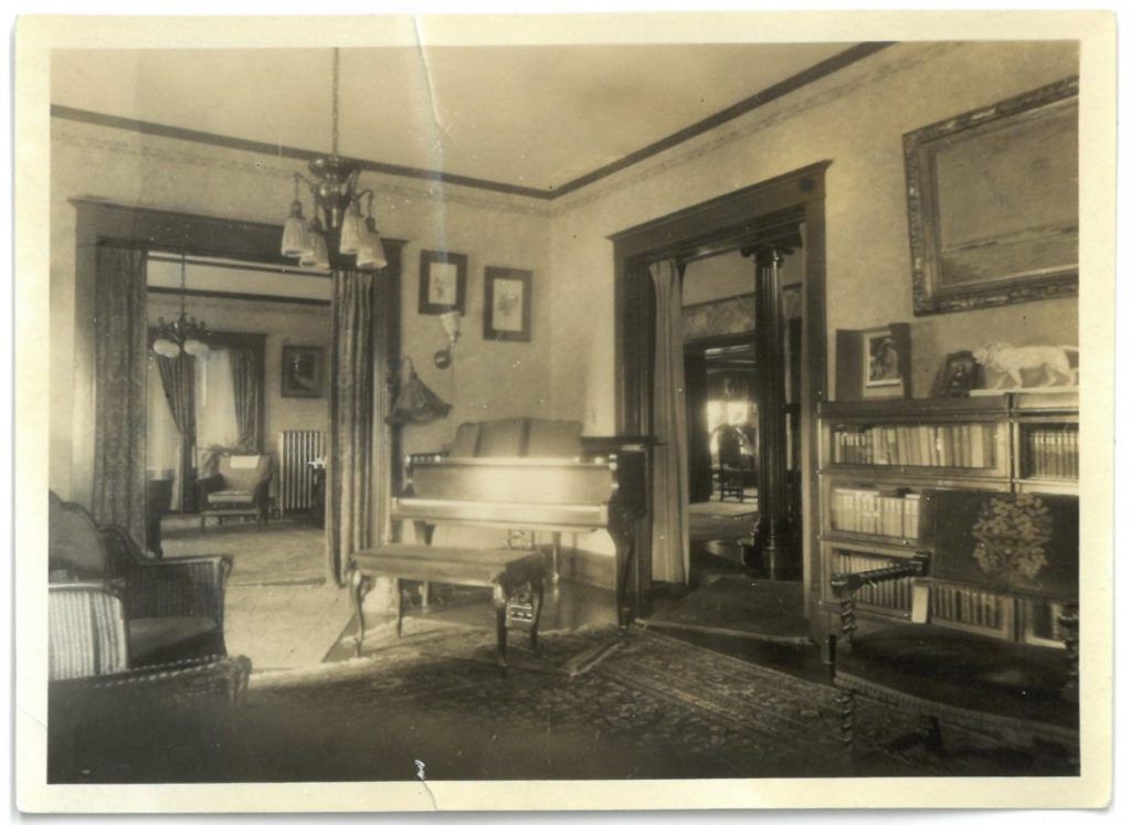 """Interior view of the """"Outlook,"""" 1924"""
