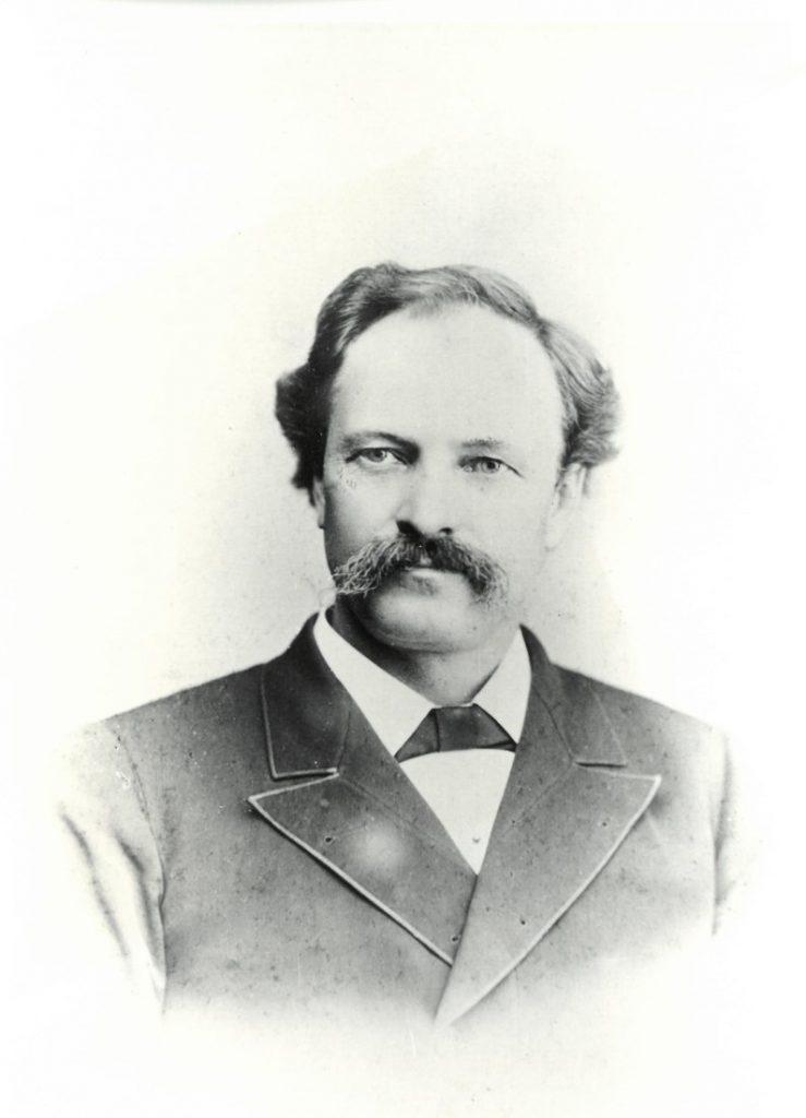 J. B. Watkins (1845-1921) as a young man, undated