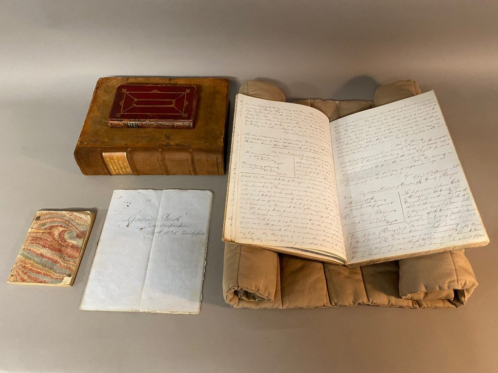 Image of five manuscripts pertaining to Ireland from Spencer Research Library's collections digitized for inclusion in Beyond 2022: Ireland's Virtual Record Treasury