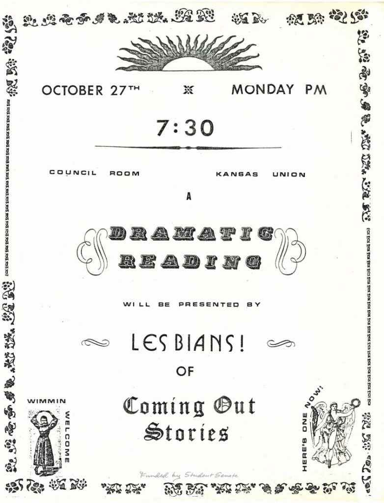 Image of an event flyer