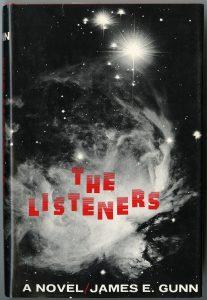 Cover of James Gunn's novel The Listeners (1972)